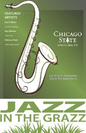 It's Back at Chicago State University: Jazz N the Grazz/Movies N the Grazz |