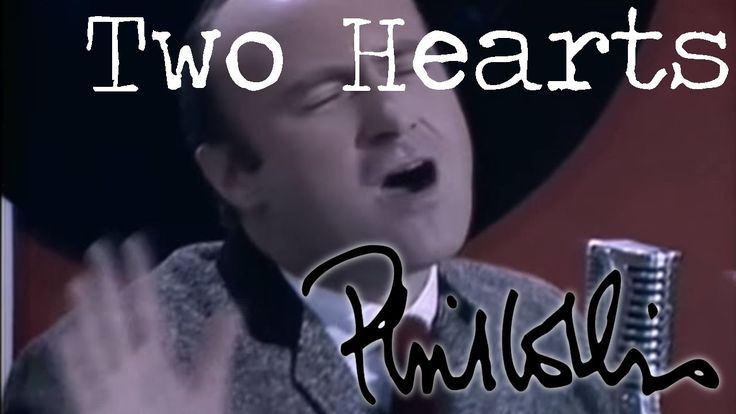Phil Collins - Two Hearts (Official Music Video)