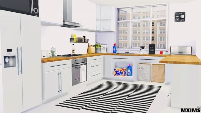 2t4 Basic Kitchen at Maximss • Sims 4 Updates