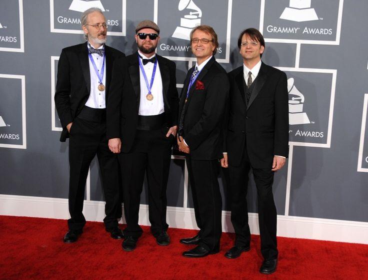 Modern Mandolin Quartet arrives at the 55th Annual GRAMMY Awards