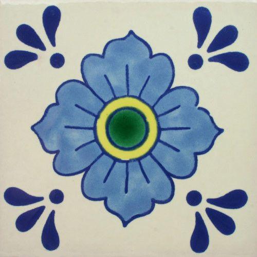 Especial Decorative Tile - Dondiego Del Dia II – Mexican Tile Designs