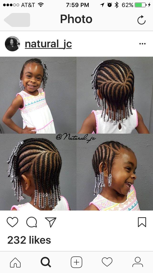 Kids and toddler braids cornrows