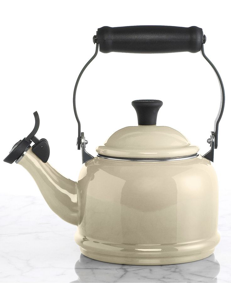 Le Creuset Demi 1.25 Qt. Tea Kettle in DUNE - Cookware - Kitchen - Macy's