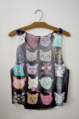 cat shirt...I love cats