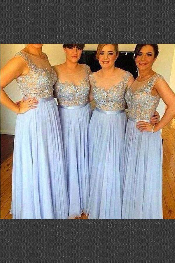 388f556777 Cheap Beautiful Blue Bridesmaid Dresses
