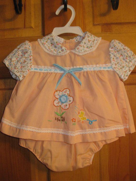 Vintage baby dress