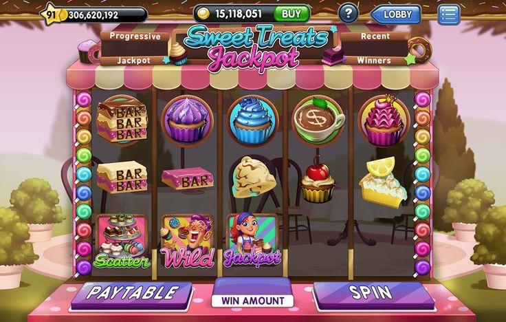 Jackpot Slots - Slots Machine UI Art/Design on Behance