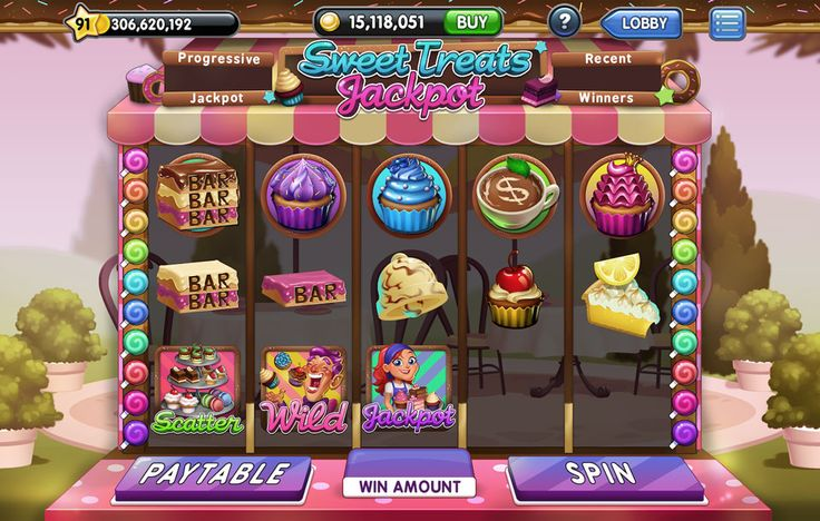 Jackpot Slots - Slots Machine UI Art/Design on Behance