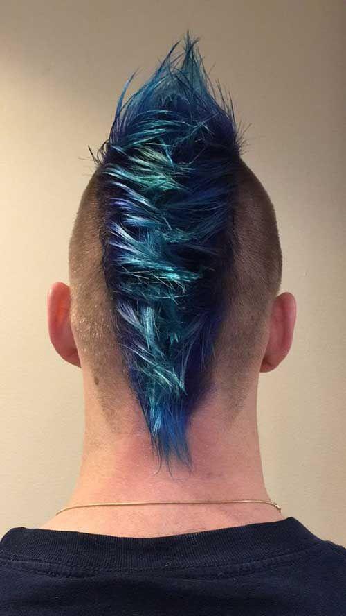 Mohawk Hairstyle Man