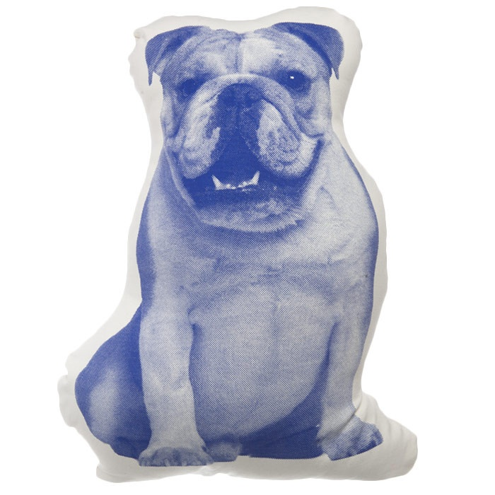Victorian Shaped Pillows : English Bulldog Pillow - Inspired by Victorian shaped pillows. Graphics based on the first mass ...