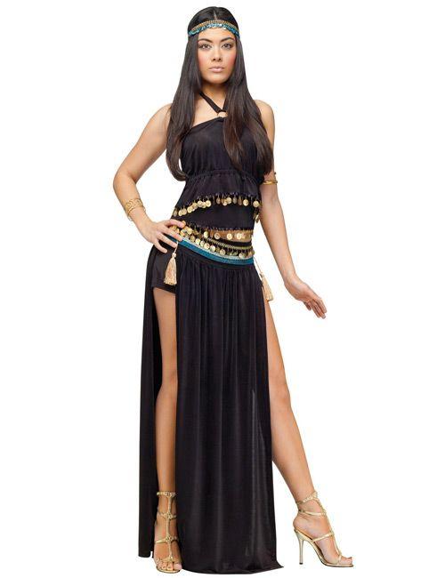 cleopatra gypterin damen kost m schwarz gold kost me in. Black Bedroom Furniture Sets. Home Design Ideas