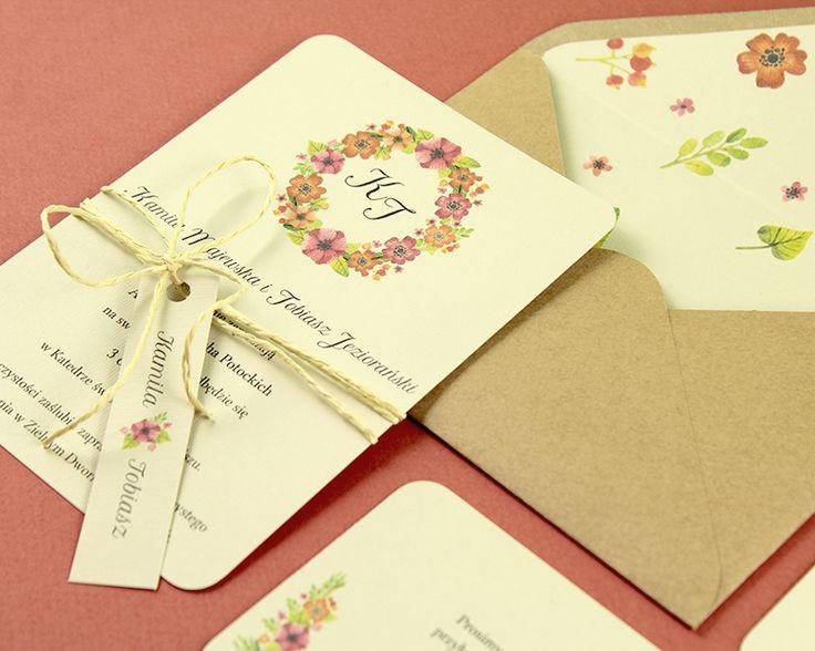 Pracownia Celegarth | Botanic | Red Poppy |  #zaproszenia #invitations #zaproszeniaślubne #weddinginvitations #flowers #maki #poppy #celegarth #ślub #wedding #papeteria #stationery #papeteriaślubna #weddingstationery #design #ślubnydesign #weddingdesign