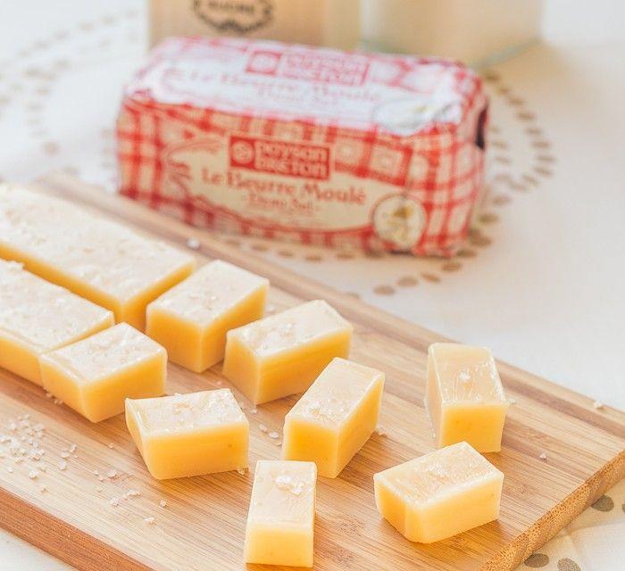 Caramels mous au Beurre salé ♥ Concours Paysan Breton inside
