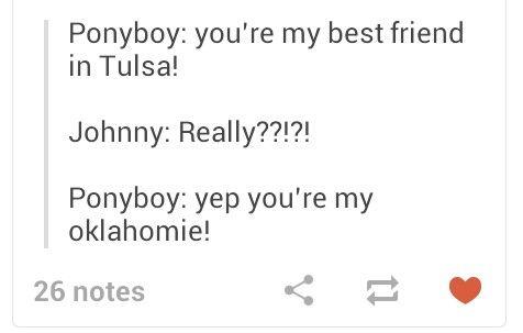 Johnnycake you're my oklahomie