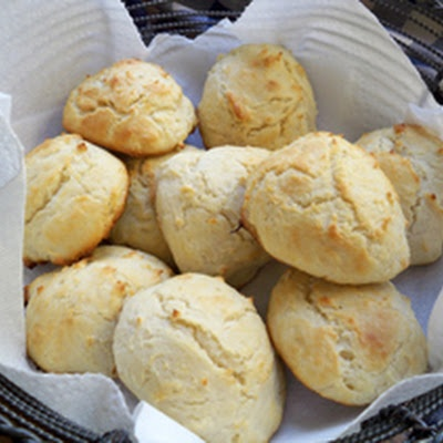 Baking Powder Drop Biscuits Recipe | Bread and Baking | Pinterest