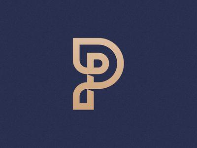 Wrapped P Monogram Icon