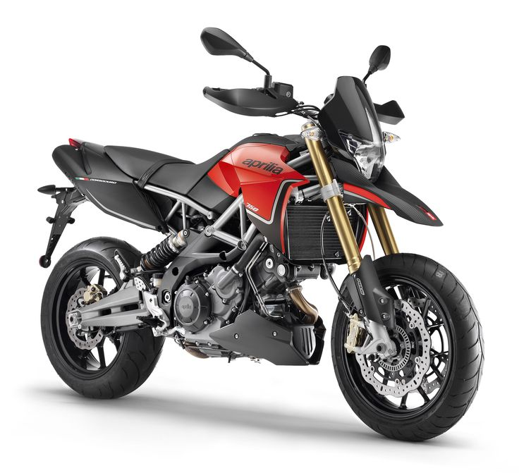 #Aprilia Dorsoduro 750 ABS Red Black Color available at #DusejaMoto #Dubai