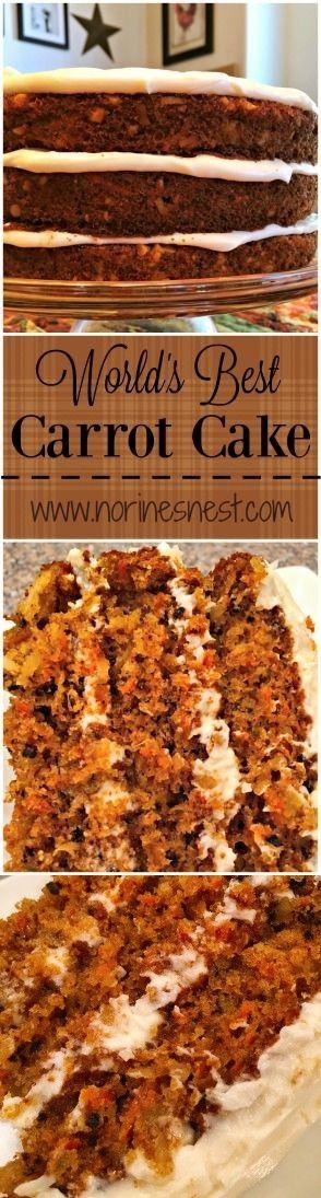 World's Best Carrot Cake