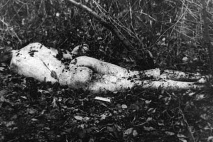 Andrei Chikatilo   Crime scenes   Murderpedia, the encyclopedia of murderers; The body of one of Andrei Chikatilo's victims.