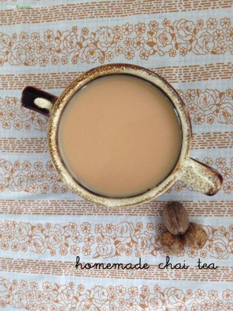 Make your own homemade chai tea concentrate! // The Haas Machine