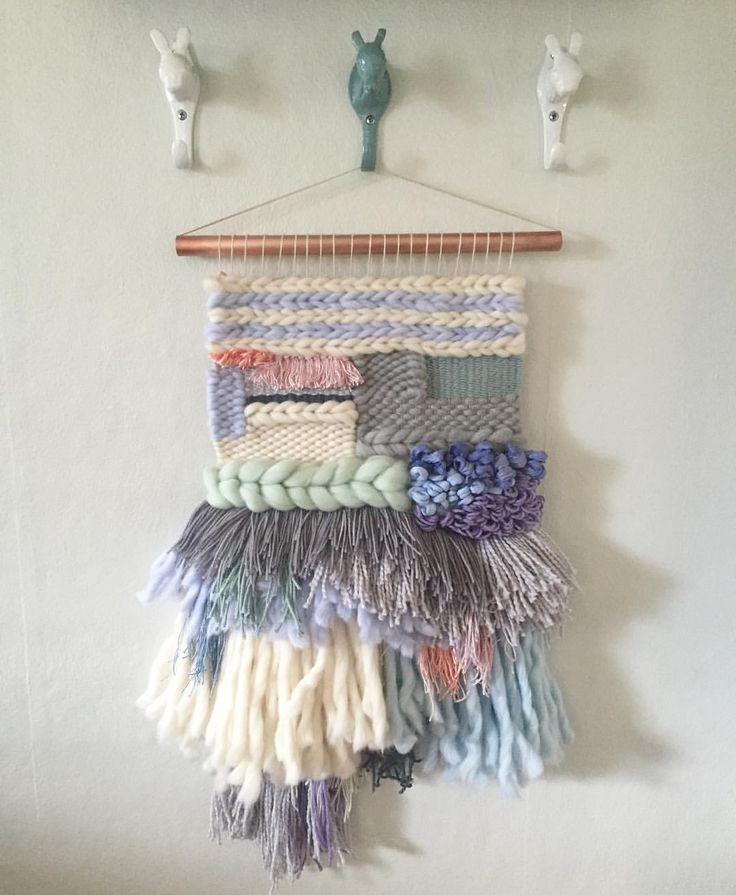 ☁️ woven wall hangings weave witch wool & needle by cam kennedy