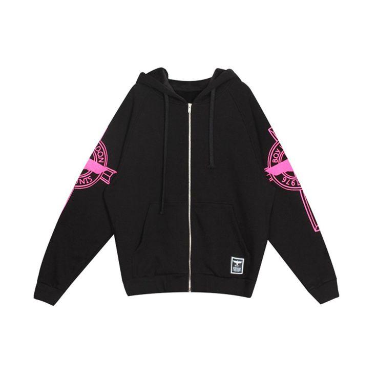Amazon.co.jp: [正規品]BOY LONDON(ボーイロンドン)G-dragon(BIGBANG)・アウター、ファッショントレーナー、ジャージー ブラックピンク[boylondon]: 服&ファッション小物通販