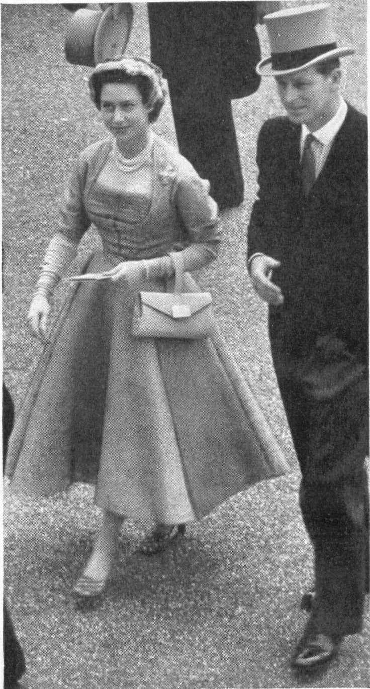 Princess Margaret Gathered front day dress: The Dress