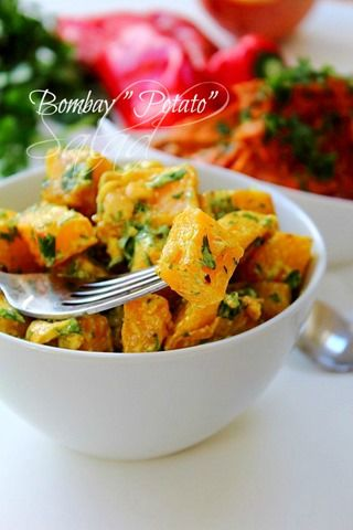 Bombay potato salad!! #simpleside #paleo #nopotato #swede #curriedmayo