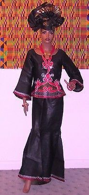 African  clothes, The Senegalese Style  top and  Skirt