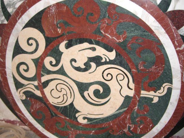 ExoTiles - B1002 Marble Medallion Floor Tiles, Ask for a quote (http://www.exotiles.com.au/b1002-marble-medallion-floor-tiles/)