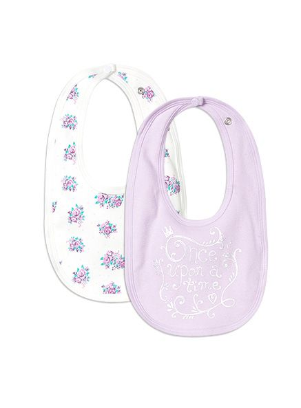 Pumpkin Patch - accessories - 2pk bibs - W5BG90017 - vanilla - osfa