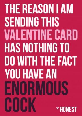 Water Painted Dreams: My Favourite Rude Valentines Day Cards