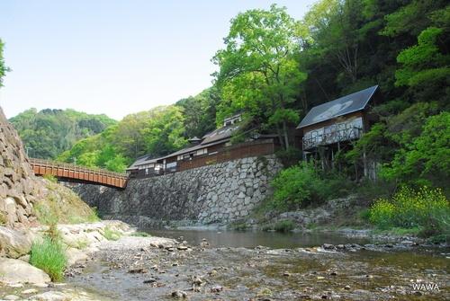 Shionoe hot spring in Takamatsu city of Kanagawa pref.