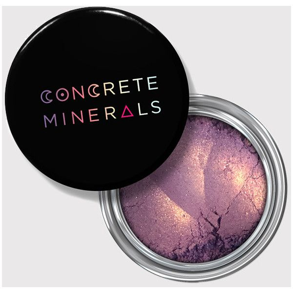 Concrete Minerals Bitches Brew Mineral Eyeshadow ($10.00) ❤ liked on Polyvore featuring beauty products, makeup, eye makeup, eyeshadow, bitches brew, mineral eyeshadow, mineral eye shadow and mineral eye makeup