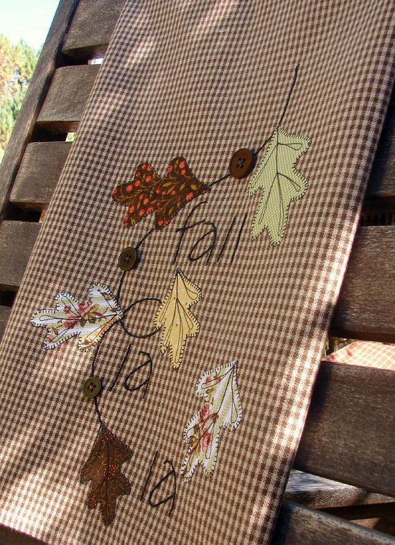 Falling Leaves Autumn Fall Decor Thanksgiving by TwoGirlsLaughing, $26.00