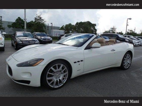 cars for sale used 2010 maserati granturismo in convertible miami fl 33169 details. Black Bedroom Furniture Sets. Home Design Ideas