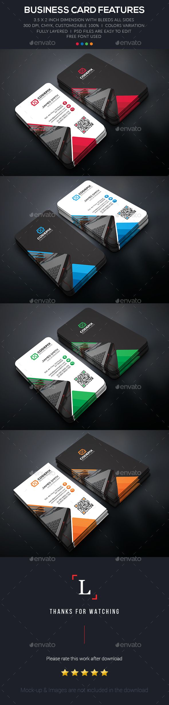 Corporate Business Card Template PSD. Download here: http://graphicriver.net/item/corporate-business-card/15943941?ref=ksioks