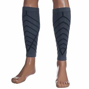 Remedy Calf Compression Running Sleeve Socks, Small, Grey  for shin splints