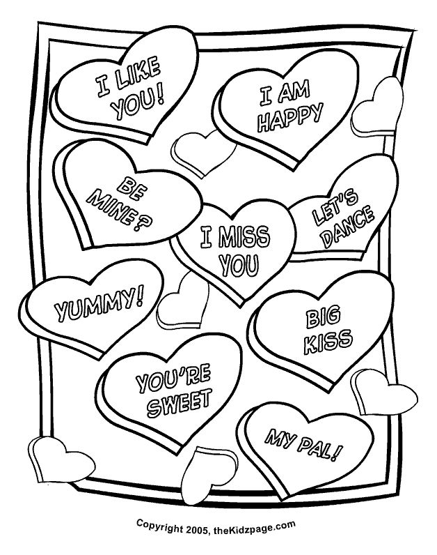 axe valentines day printable coloring pages | 324 best images about Valentine's Day printables on ...