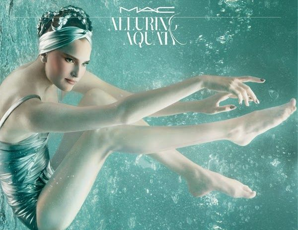 simo make-up: Alluring Aquatics M.A.C 2014