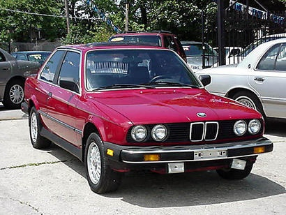 First car I bought 1985 BMW 325e