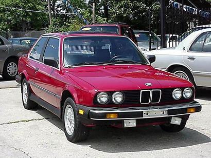 First car I bought 1985 BMW 325e