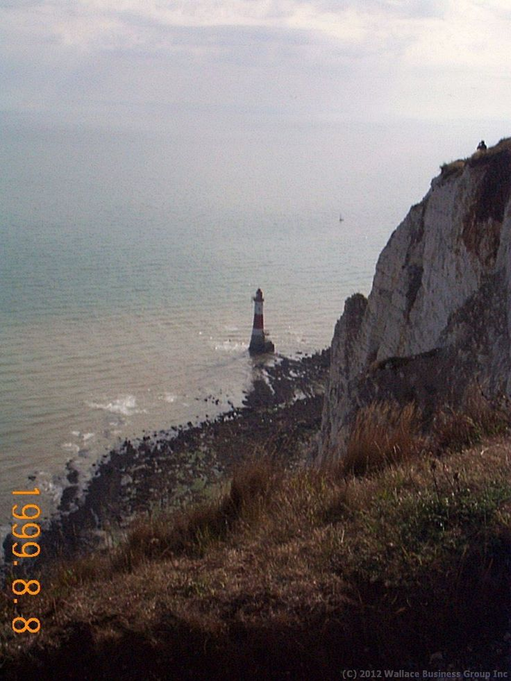 This iconic picture of Beachy Head near Eastbourne Sussex was taken with my first ever digital camera a Kodak DC210 in August of 1999