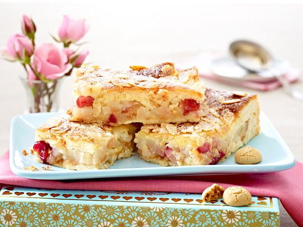 Fruchtige kuchen im herbst