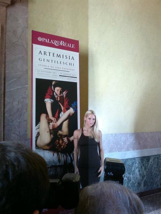 Michelle Hunziker @ Artemisia Gentileschi