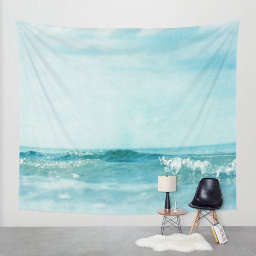 Ocean Wall Tapestry. Home Decor. Large Size Wall by thelastsparrow