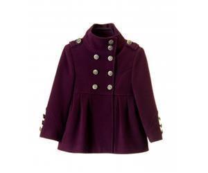 Кашемировое пальто для девочки sundoll