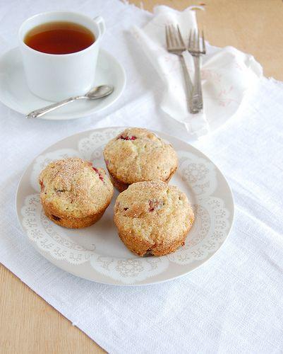 Raspberry muffins / Muffins de framboesa