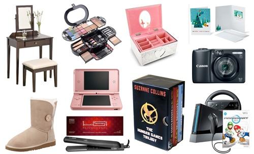 Christmas Gift Ideas For A Teenage Girl 2012