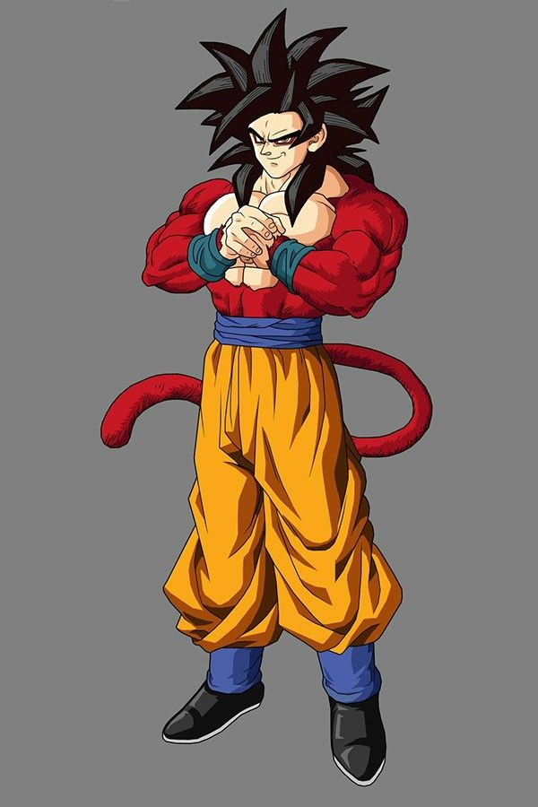 Dessin Black Goku Super Saiyajin 4 Desenhos Irados Para